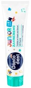 Детская зубная паста Dontodent для постоянных зубов 100 мл, Германия