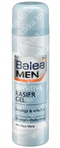 Гель для бритья Balea Sensitive 200 мл, Германия