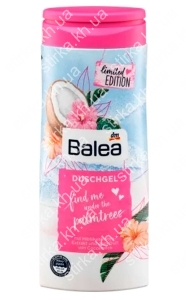 Гель для душа Balea Find me under palmtrees 300 мл, Германия