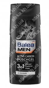 Гель для душа Balea мужской Active Carbon 300 мл, Германия