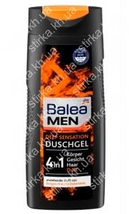 Гель для душа Balea мужской Deep Sensation 300 мл, Германия