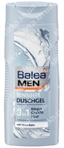 Гель для душа Balea мужской Sensitive 300 мл, Германия
