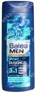 Гель для душа Balea мужской Sport 300 мл, Германия