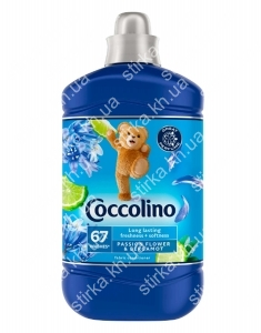 Кондиционер для белья Coccolino 1,9 л Пассифлора и Бергамот, Нидерланды