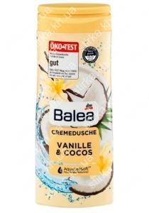 Крем гель для душа Balea Vanille and Cocos 300 мл, Германия