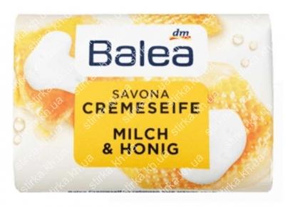 Мыло для рук Balea кусковое Молоко и Мед 150 г, Германия