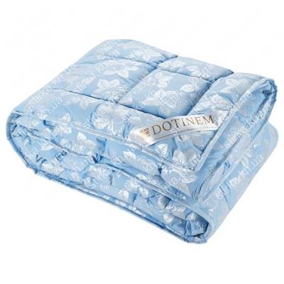 Одеяло зимнее Dotinem Rosalie тик голубой 145 х 210 см, Украина