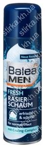 Пена для бритья Balea Fresh 300 мл, Германия