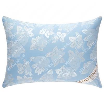 Подушка Dotinem Rosalie 50 х 70 см тик голубой, Украина