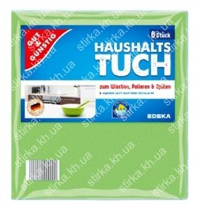 Салфетки для уборки Gut and Gunstig Haushalts tuch 6 шт., Германия