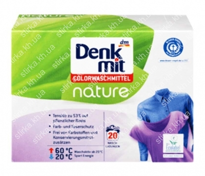 Стиральный порошок для цветного Denkmit Nature 1,35 кг, Германия