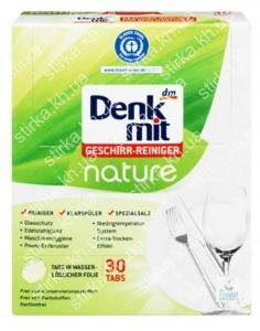 Таблетки для посудомоечных машин Denkmit Nature 30 шт., Германия