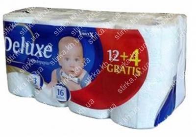 Туалетная бумага Deluxe Voxxx 16 рул., Польша