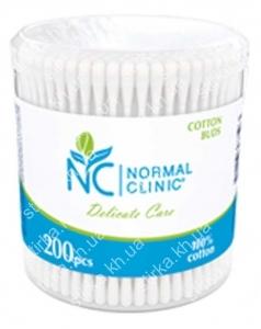 Ватные палочки Normal Clinic 200 шт., Чехия