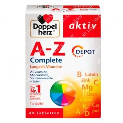Витамины Doppelherz AZ Depot 40 шт., Германия
