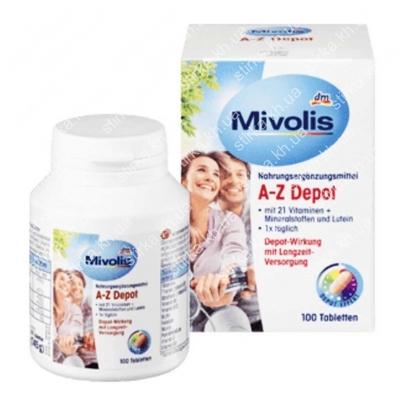 Витамины Mivolis AZ Depot, 100 шт., Германия