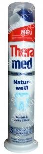 Зубная паста Theramed Natur Weib отбеливающая с дозатором 100 мл, Германия